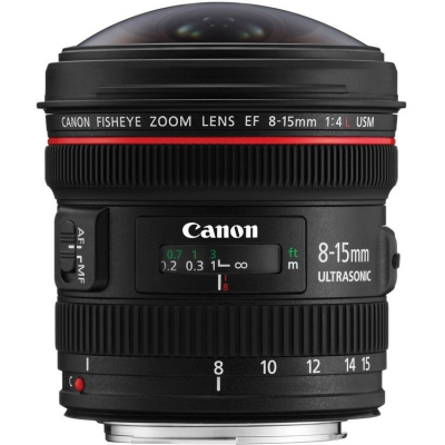 لنز کانن Canon EF 8-15mm f/4L Fisheye USM
