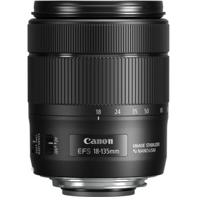 لنز کانن Canon EF-S 18-135mm f/3.5-5.6 IS USM No Box