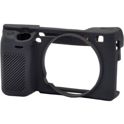 محافظ بدنه دوربین سونی آلفا EASYCOVER SILICONE PROTECTION COVER FOR SONY ALPHA A6400, A6300 & A6000 (BLACK)