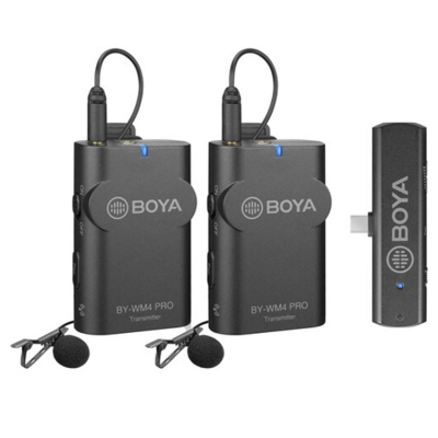 میکروفن بی سیم بویا BOYA BY-WM4 Pro-K6 Wireless Microphone
