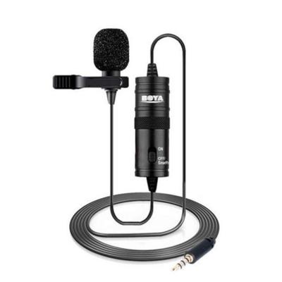 میکروفن یقه ای بویا BOYA Microphone BY-M1 Lavalier Microphone