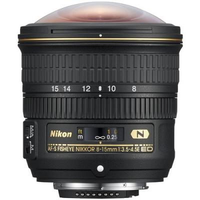 لنز نیکون Nikon AF-S NIKKOR 8-15mm f/3.5-4.5E ED Fisheye